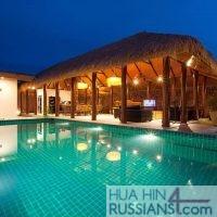Элитная вилла с бассейном на 4 спальни в аренду — 80043