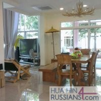 Арендовать виллу на 3 спальни  в Хуа Хине на море в Blue Lagoon — 80062