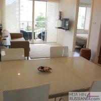 Аренда квартиры с 1й спальней в Си Криз на юге Хуа Хина — 70332