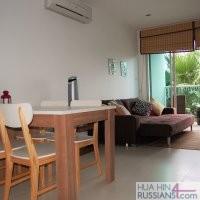 Аренда квартиры с 1й спальней в Си Криз на юге Хуа Хина — 70335
