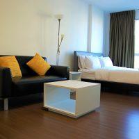 Аренда. Квартира-студия в комплексе Баан Кункой — 70363