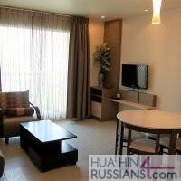 Аренда квартиры с 1й спальней в центре Хуа Хина на море — 70389
