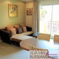 Снять квартиру с 1-й спальней в комплексе Миконос в центре Хуа Хина — 70390