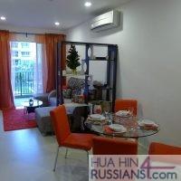 Продажа квартиры с 1й спальней на юге Хуахина в Seacraze — 40186