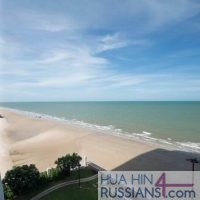 Продажа апартаментов на 2 спальни на севере Хуа Хина с видом на море — 40189
