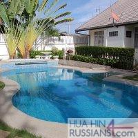 Аренда виллы с бассейном, 3 спальни, рядом с центром Хуа Хина — 80106