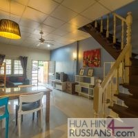 Аренда таунхауса с 2 спальнями в центре Хуа Хина в Sport Villa Huahin — 80112