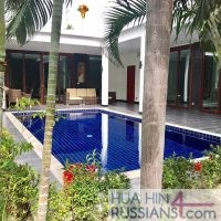 Аренда виллы с 2 спальнями на западе Хуа Хина в Black Lotus Resort & Spa — 80116