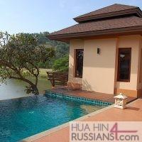 Аренда дома с бассейном на 3 спальни на юге Хуа Хина — 80114