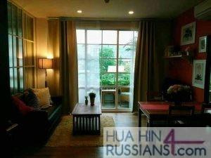 Аренда квартиры на с 2 спальнями на юге Хуахина в комплексе Autumn — 70700 на  за 35000