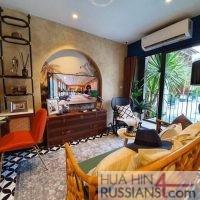 Продажа квартиры на юге Хуа Хина с 1 спальней в La Habana — 40201
