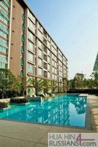 Аренда квартиры-студии на юге Хуа Хина в Baan Peang Ploen — 70715 на  за 16000