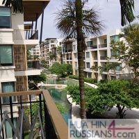 Аренда квартиры на 2 спальни на юге Хуа Хина в Baan Sansuk — 70708