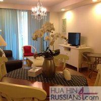 Аренда квартиры с 1 спальней на юге Хуа Хина в Baan Sansuk — 70709