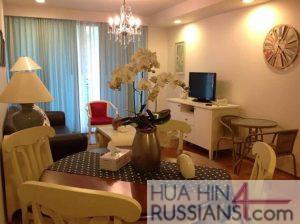 Аренда квартиры с 1 спальней на юге Хуа Хина в Baan Sansuk — 70709 на  за 42000