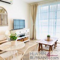Аренда квартиры с 1 спальней на юге Хуа Хина в Summer Hua Hin — 70712