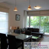 Аренда квартиры с 2 спальнями в центре Хуа Хина в Baan San Pluem — 70720