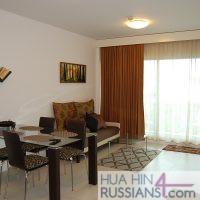 Аренда квартиры с 1 спальней в центре Хуа Хина в Baan San Pluem — 70719