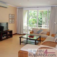 Аренда квартиры с 3 спальнями в центре Хуа Хина в Baan SanPloen — 70717