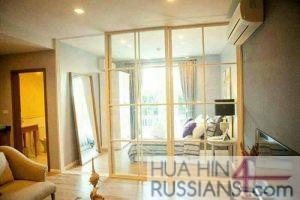 Аренда квартиры на с 1 спальней на юге Хуахина в комплексе Autumn — 70725 на  за 28000