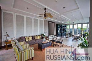 Аренда квартиры на с 2 спальнями на юге Хуахина в комплексе Autumn — 70726 на  за 38000