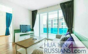 Аренда квартиры с 2 спальнями на юге Хуа Хина в My Resort Hua Hin — 70723 на  за 50000