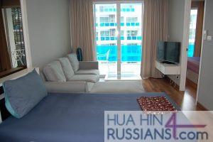 Аренда квартиры с 2 спальнями на юге Хуа Хина в My Resort Hua Hin — 70724 на  за 45000