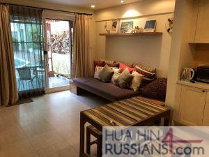 Аренда квартиры с 1 спальней в центре Хуа Хина в Mykonos Condo Hua Hin — 70728 на  за 38000