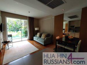 Аренда квартиры с 1 спальней на юге Хуа Хина в Amari Resort & Spa — 70736 на  за 38000
