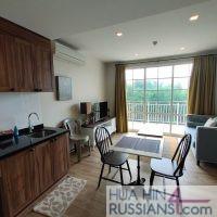 Аренда квартиры на с 1 спальней на юге Хуахина в комплексе Autumn — 70749