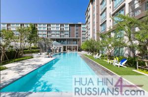 Аренда квартиры-студии на юге Хуа Хина в Baan Peang Ploen — 70740 на  за 16000