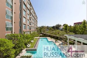 Аренда квартиры-студии на юге Хуа Хина в Baan Peang Ploen — 70741 на  за 16000
