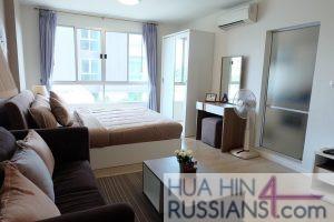 Аренда квартиры-студии на юге Хуа Хина в Baan Peang Ploen — 70742 на  за 16000