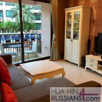 Аренда квартиры с 1 спальней в центре Хуа Хина в Marкakesh — 70751