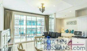 Аренда квартиры с 1 спальней на юге Хуа Хина в Summer Hua Hin — 70739 на  за 32000