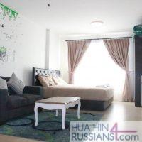 Аренда квартиры-студии на юге Хуа Хина в Baan Peang Ploen — 70753