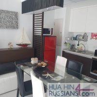 Аренда квартиры с 1 спальней в центре Хуа Хина в Baan San Pluem — 70756