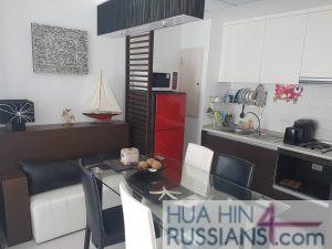 Аренда квартиры с 1 спальней в центре Хуа Хина в Baan San Pluem — 70756 на  за 45000