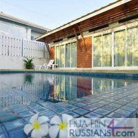 Аренда дома с бассейном на 2 спальни на западе Хуа Хина в Kiri Nakara — 80126