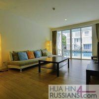 Аренда квартиры на 2 спальни в центре Хуа Хина в Malibu Hau Hin Kao Tao с видом на море — 70755