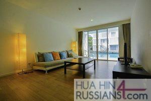 Аренда квартиры на 2 спальни в центре Хуа Хина в Malibu Hau Hin Kao Tao с видом на море — 70755 на  за 60000