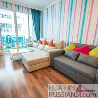 Аренда квартиры с 2 спальнями на юге Хуа Хина в My Resort Hua Hin — 70757