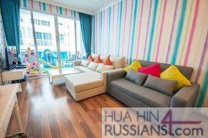 Аренда квартиры с 2 спальнями на юге Хуа Хина в My Resort Hua Hin — 70757 на  за 45000