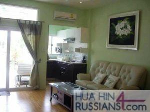 Аренда таунхауса с 2 спальнями в центре Хуа Хина в Sport Villa Huahin — 80130 на  за 18000